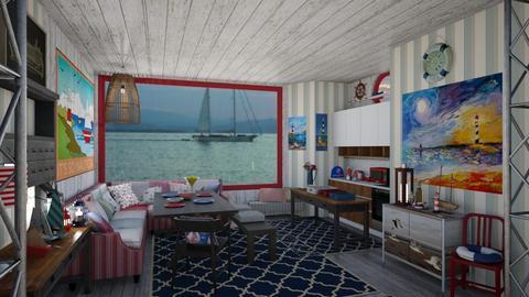 nautical dining - by Teri Dawn