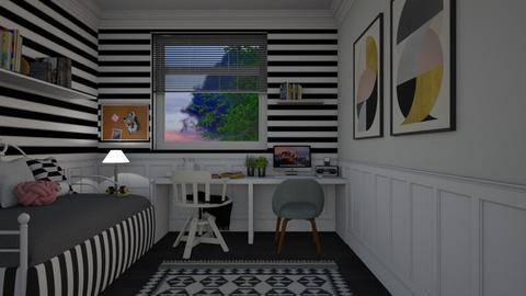teen bedr - Bedroom - by its_eima