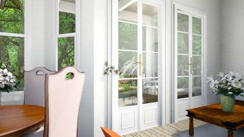 Landhaus_Front Porch - by menkymunky