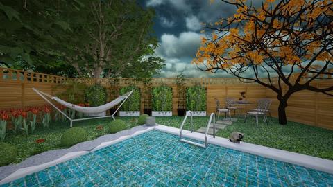 Backyard Pool - by LooseThreads