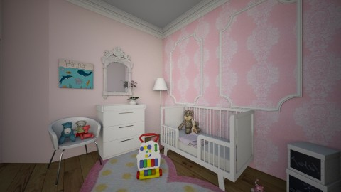 Baby Girl Room - Kids room - by Laken Barnett