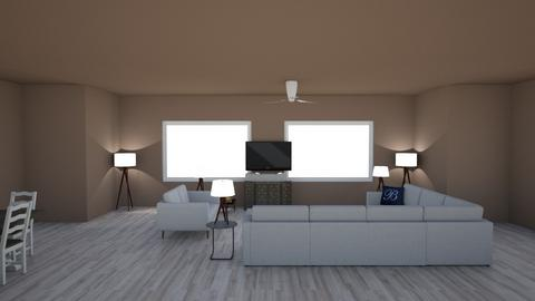 Aspen Chalet Template - Living room - by Jayox0808080