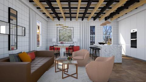 Overchecked - Modern - Living room - by 3rdfloor