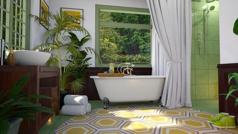 Birds - Bathroom - by Vie Confortable