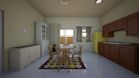 Old Homestead 2 - Kitchen - by WestVirginiaRebel