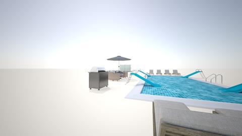 Luxury Pool - Garden - by Jordin12