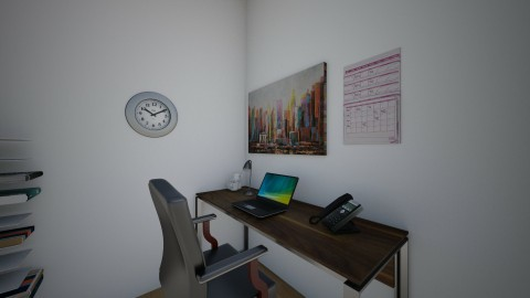 chilli10 - Vintage - Office - by Linni