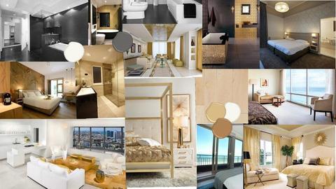 moodboard hotel room - by LauraYasmina
