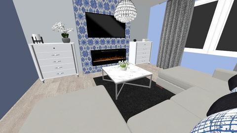 szarcsa nappali - Living room - by Anna2525