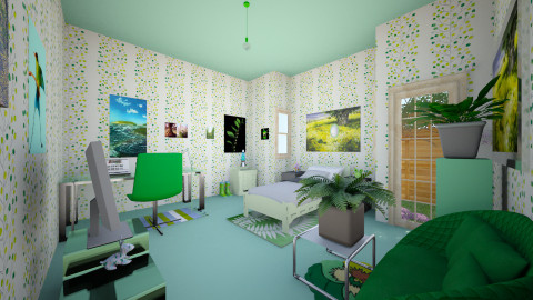 kiki3 - Modern - Kids room - by Kristina Jokovic