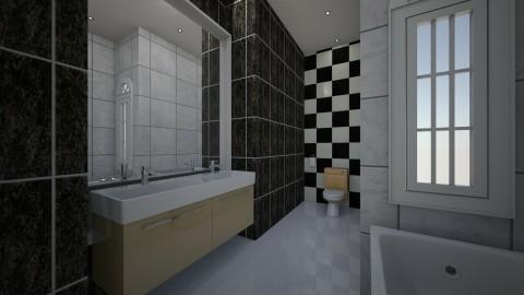 WC - Retro - Bathroom - by MarquiGames