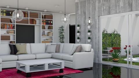 lea - Living room - by MariaMunoz