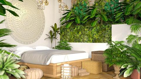Light Jungle - Rustic - Bedroom - by millerfam