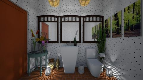guest bathroom 11 - Bathroom - by GeGe Kanthip
