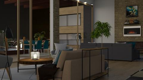 Indoor Outdoor Living - Modern - Living room - by millerfam