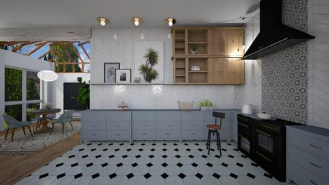 blue - Modern - Kitchen - by tolo13lolo