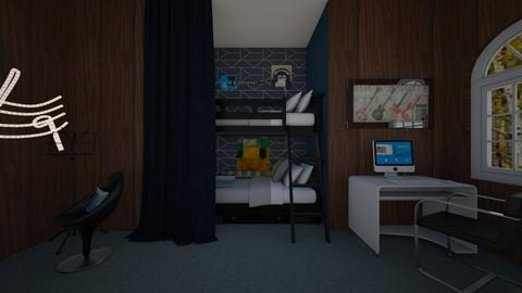Bunk Bed Room - Bedroom - by Seattle2424