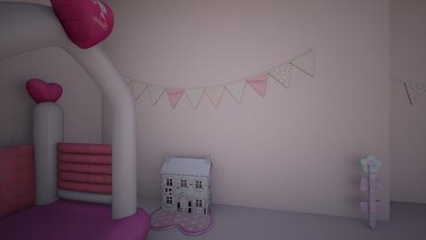 kid bedroom - by tatiannaroberson