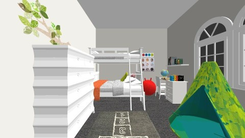 new ab room - Kids room - by ayeeshadandan