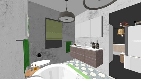 matrimonial Chitila - Bathroom - by Flori Santa