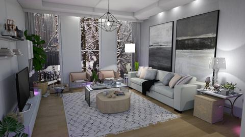 Template room - Living room - by Mariana Gooliveira
