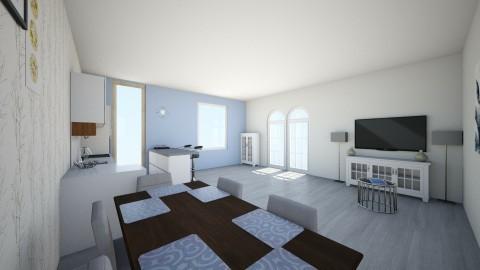 living room matte colours - Living room - by bientje11