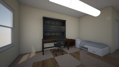 Mississippe State Dorm - Bedroom - by BeckAsHeck