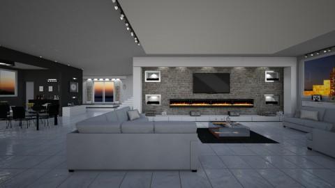 My ideal living  - Modern - Living room - by mariateresadrago