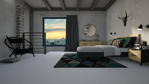 Up above - Bedroom - by meggle