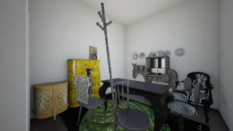 new apartment - by Cyntia Reillo