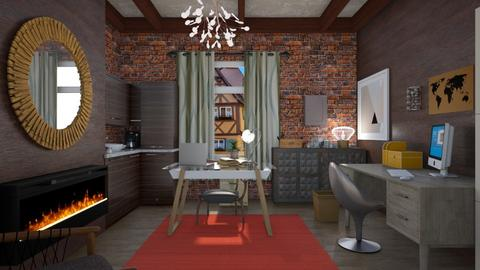 Eclectic home office - Eclectic - Office - by augustmoon