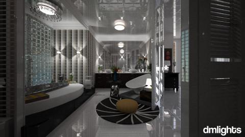 Preto e Branco - Bathroom - by DMLights-user-994540