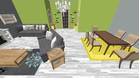 country cottage  - Modern - Living room - by kielahblakley