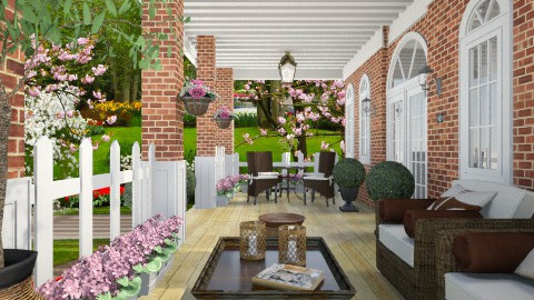 Front porch - Classic - by liling