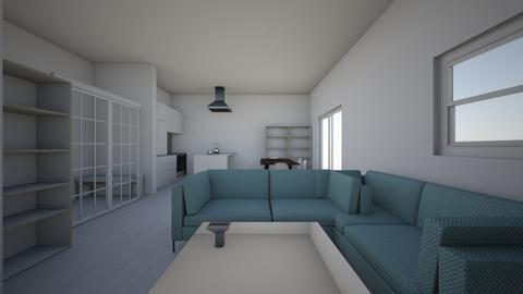 mieszkanie wersja 1 - Modern - Living room - by klaudiadrw
