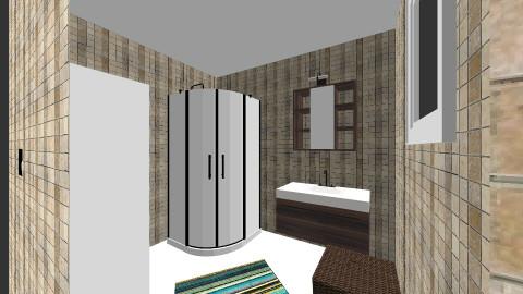 little bathroom  - by evaweisz