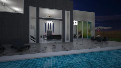 pool house - Garden - by rebekahd7