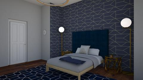 navy - Bedroom - by love Tully love