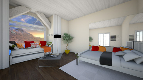 white dreams - Living room - by Design your life