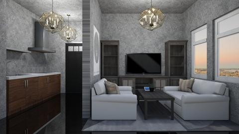 gray 2 - Living room - by cguy67