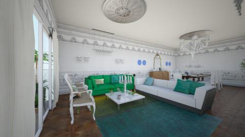 emerald - Retro - Living room - by nilo41