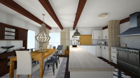 kitchen4 - Rustic - Kitchen - by bwhite37