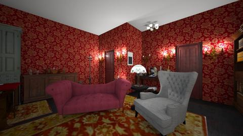 221B Baker Street 2 - Living room - by SammyJPili