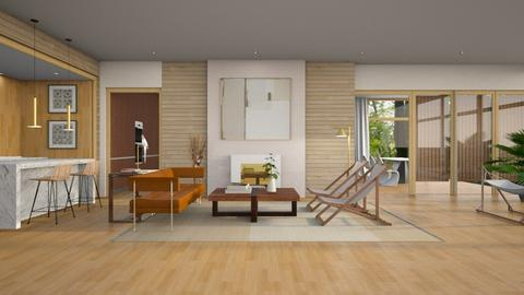 Casa do Rio - Living room - by JennieT8623