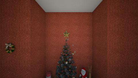 deco de Noel  - Living room - by Cici Brunet