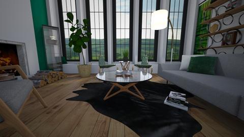 Modern Home - Modern - Living room - by Sally Anne Design