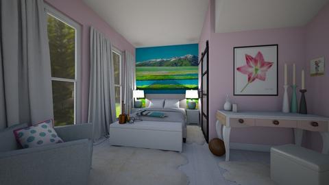 Girl Room Manga Soccer - Bedroom - by PenAndPaper