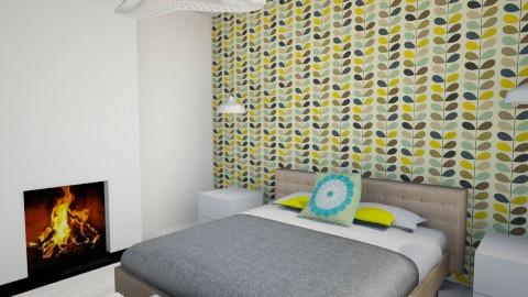Lemon_Mint  - Bedroom - by lozfisher_