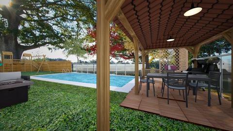 Backyard Luxury - Garden - by rlav2