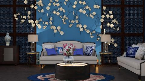 Magnolia - Living room - by yonvie